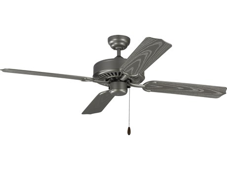 Monte Carlo Fans Tucker Painted Brushed Steel 52'' Wide Outdoor Ceiling Fan