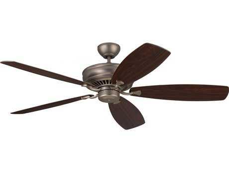 Monte Carlo Fans Bonneville Max Brushed Pewter 60'' Wide Indoor Ceiling Fan