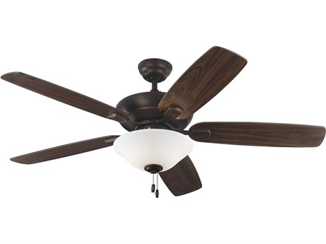 Monte Carlo Fans Colony Max Plus Roman Bronze Three-Light 52'' Wide Indoor/Outdoor Ceiling Fan MCF5COM52RBD