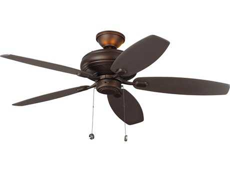 Monte Carlo Fans Centro Max Uplight Roman Bronze Four-Light 52'' Wide Indoor Ceiling Fan