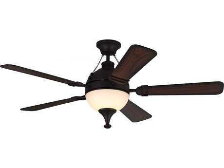 Monte Carlo Fans Essex Espresso 54'' Wide Indoor Ceiling Fan with LED Light