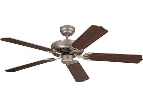 Monte Carlo Fans Homeowner Max Brushed Pewter 52'' Wide Indoor Ceiling Fan