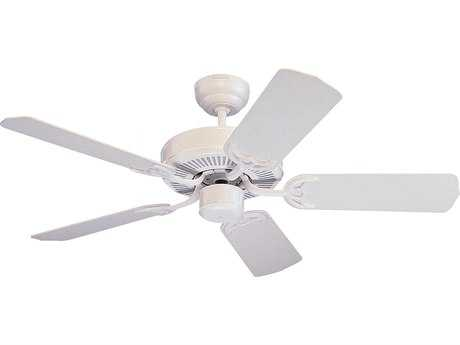 Monte Carlo Fans Homeowners Select II White 42'' Wide Indoor Ceiling Fan