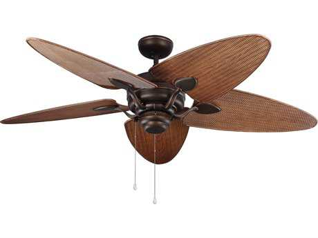 Monte Carlo Fans Peninsula Roman Bronze 56'' Wide Outdoor Ceiling Fan