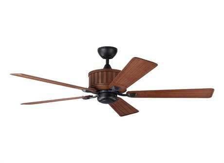 Monte Carlo Fans Tillbury Weathered Zinc 54'' Wide Indoor Ceiling Fan