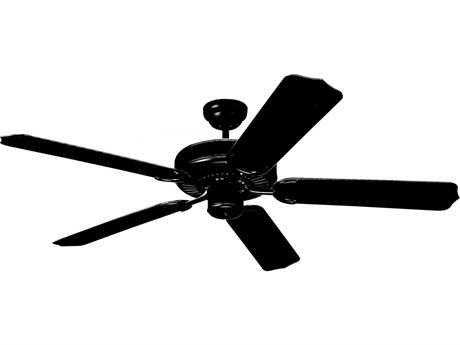 Monte Carlo Fans Weatherford Matte Black 52'' Wide Outdoor Ceiling Fan
