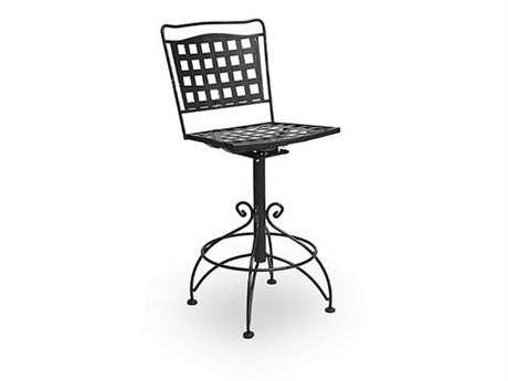 Meadowcraft Vera Cruz Wrought Iron Bar Stool