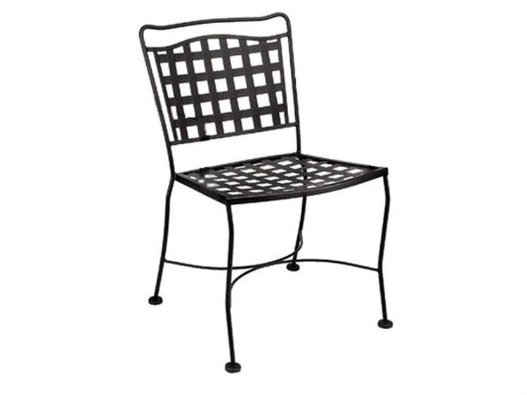 Meadowcraft Vera Cruz Wrought Iron Dining Side Chair PatioLiving
