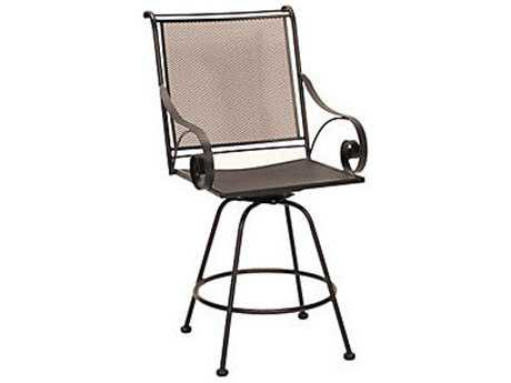 Meadowcraft Monticello Wrought Iron  Counter Stool PatioLiving