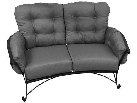 Meadowcraft Vinings Wrought Iron Loveseat