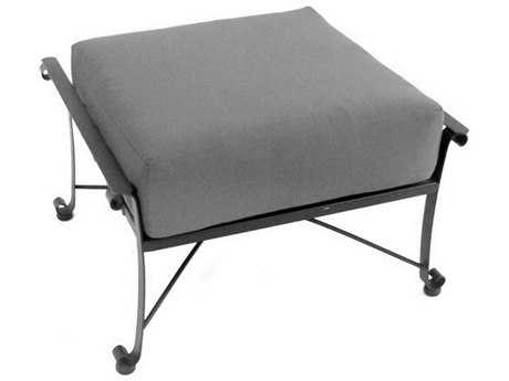 Meadowcraft Vinings Wrought Iron Ottoman