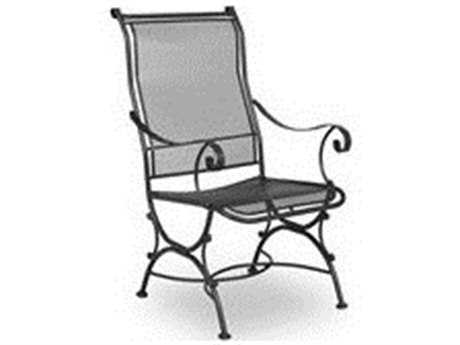 Meadowcraft Alexandria Wrought Iron Dining Arm Chair