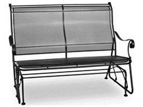 Meadowcraft Alexandria Wrought Iron Loveseat Glider PatioLiving