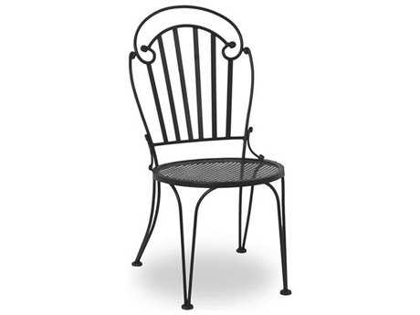 Meadowcraft Sannibel Wrought Iron Side Dining Chair - Price Includes 2 Chairs