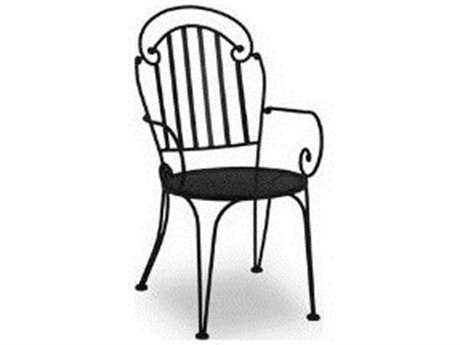 Meadowcraft Sannibel Wrought Iron Dining Chair - Price Includes 2 Chairs