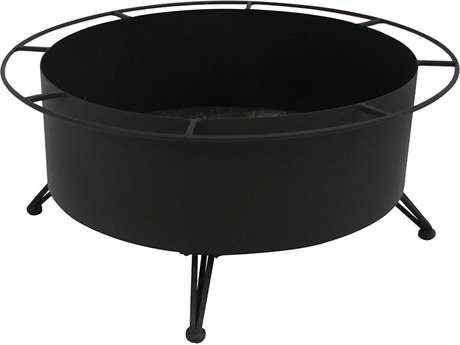 Meadowcraft Firepits Small Wood Burning Fire Pit