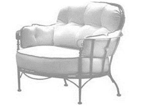 Meadowcraft Athens Wrought Iron Cuddle Chair