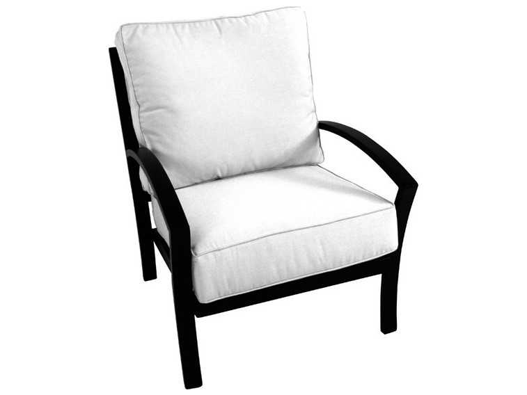 meadowcraft maddux wrought iron lounge chair 4440100 01. Black Bedroom Furniture Sets. Home Design Ideas
