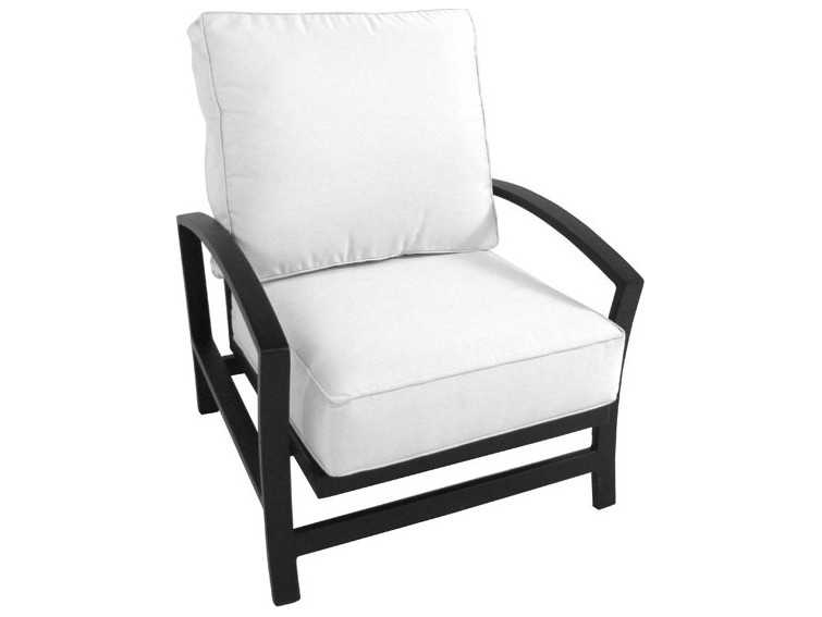 meadowcraft maddux wrought iron spring lounge chair 4441400 01. Black Bedroom Furniture Sets. Home Design Ideas