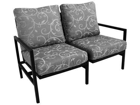 Meadowcraft Meridian Action Loveseat Replacement Cushions
