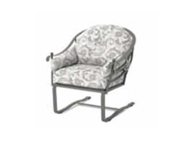 Meadowcraft Milano Wrought Iron Club Chair Replacement Cushions