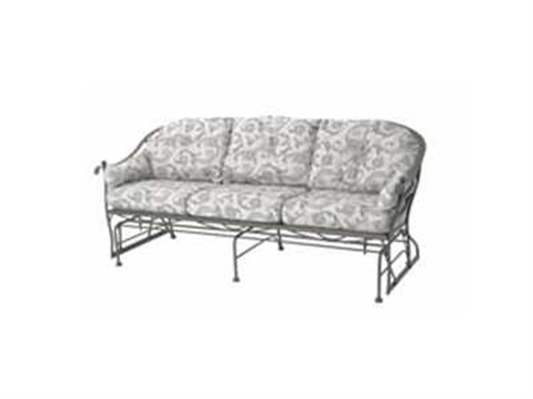 Meadowcraft Milano Wrought Iron Cushion Arm Glider Sofa Replacement  Cushions | 4623920 01CH