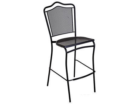 Meadowcraft Boardwalk Wrought Iron Bar Stool