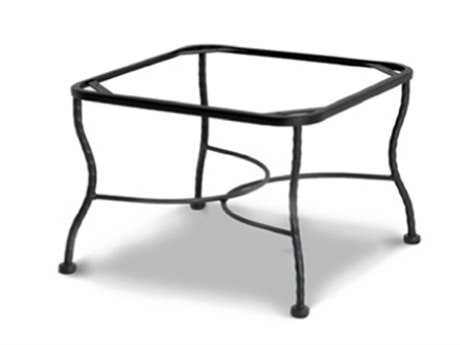 Meadowcraft Wrought Iron Chat Table Base Tube