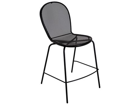 Meadowcraft Bimini Wrought Iron Bar Stool