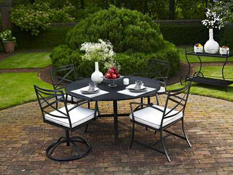 Meadowcraft Maddux Wrought Iron Dining Set