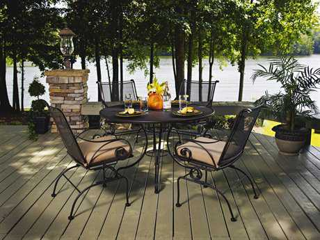 Meadowcraft Monticello  Wrought Iron Dining Set