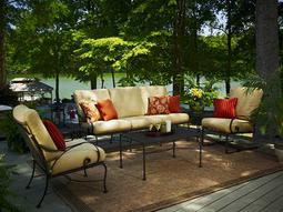 Monticello Wrought Iron Lounge Set