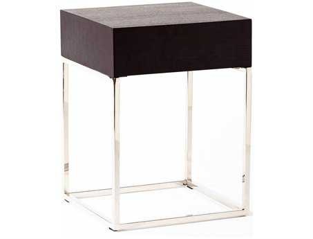 Moe's Home Collection Chio 16 Square Black Side Table