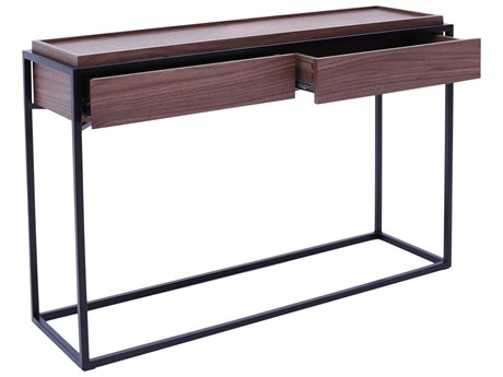 Moe's Home Collection Kristoff Brown 48'' x 14'' Rectangular Console Table