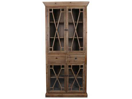 Moe's Home Collection Capulet 43'' x 18'' Tall Natural Display Cabinet