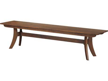 Moe's Home Collection Florence Large Walnut Accent Bench