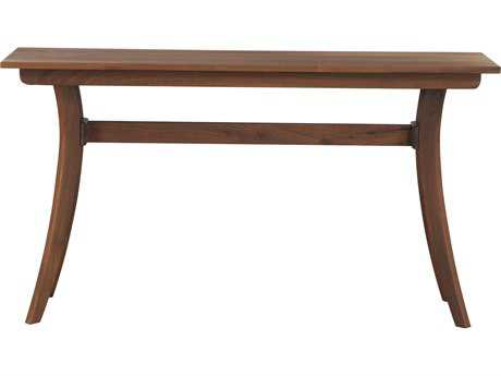 Moe's Home Collection Florence 56'' x 18'' Rectangular Walnut Console Table