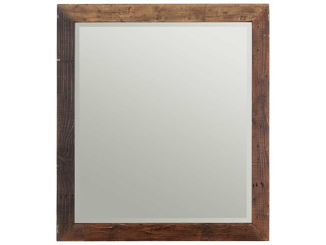 Moe's Home Collection Vintage 35.5'' x 37.5'' Rectangular Wall Mirror