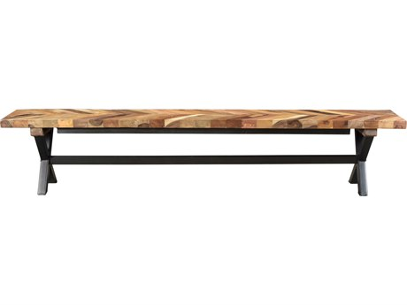 Moe's Home Collection Zane Natural Small Bench