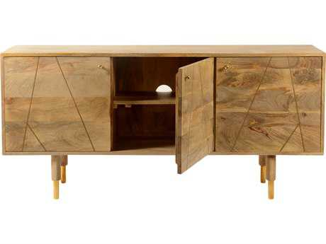 Moe's Home Collection Messinki 54'' x 14'' Natural Entertainment Center