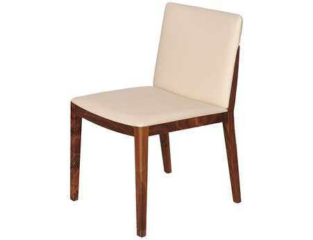 Moe's Home Collection Monico Walnut Dining Side Chair (Set of 2)
