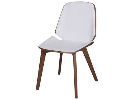 Moe's Home Collection Austin White Dining Chair (Set of 2)