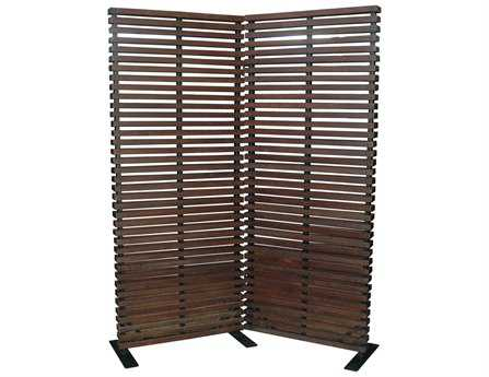 Moe's Home Collection Dasha Brown Room Divider