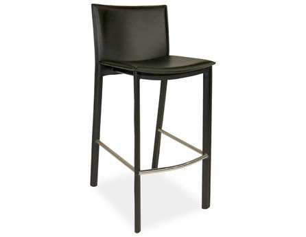 Moe's Home Collection Panca Black Bar Stool