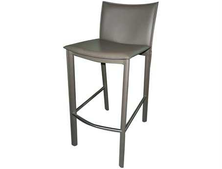 Moe's Home Collection Panca Dark Gray Bar Stool