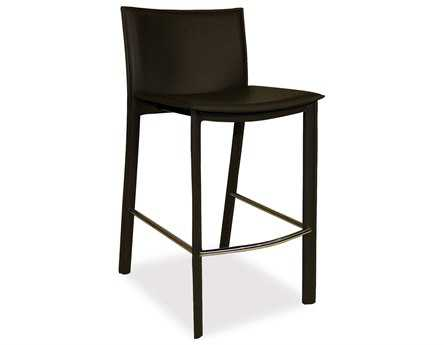 Moe's Home Collection Panca Black Counter Stool