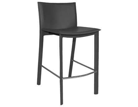 Moe's Home Collection Panca Dark Gray Counter Stool