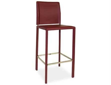 Moe's Home Collection Stallo Red Bar Stool
