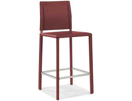 Moe's Home Collection Stallo Dark Red Counter Stool