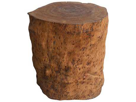 Moe's Home Collection Longan Natural Accent Stool